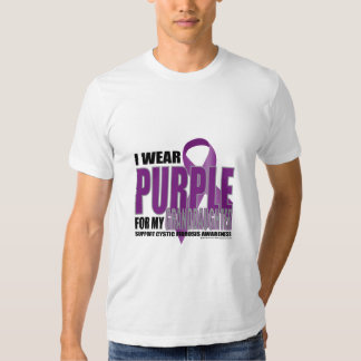 Cystic Fibrosis:Purple for Granddaughter T-Shirt