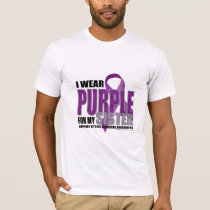 Cystic Fibrosis: Purple for Sister T-Shirt
