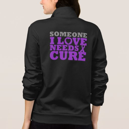 Cystic Fibrosis Someone I Love Needs A Cure Jacket