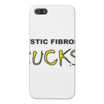 Cystic Fibrosis Sucks.jpg iPhone SE/5/5s Case