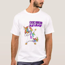 CYSTIC FIBROSIS Survivor Stand-Fight-Win T-Shirt