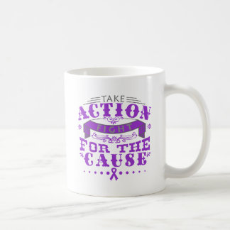 Cystic Fibrosis Take Action Fight For The Cause Coffee Mugs