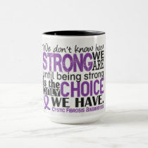Cystic Fibrosis Travel/Mug/Coffee by Elle Rose Mug