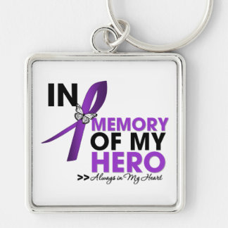 Cystic Fibrosis Tribute In Memory of My Hero Keychain