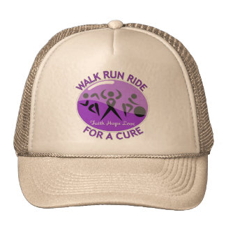 Cystic Fibrosis Walk Run Ride For A Cure Mesh Hat