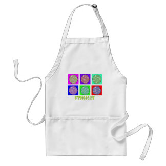 Cytologist Gifts Cells in Petrie Dishes Design Adult Apron