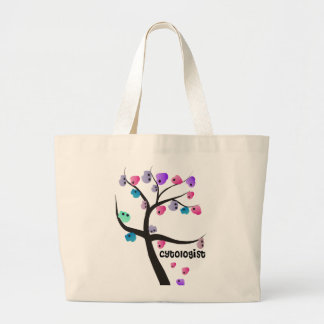 Cytologist Gifts Unique Tree With Cells Design Tote Bag