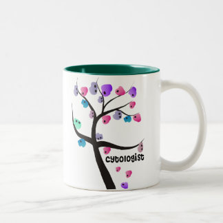 Cytologist Gifts Unique Tree With Cells Design Coffee Mug