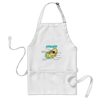 Cytologist Human Cell Drawing Gifts Adult Apron