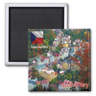 CZ - Czech Republic - Karlovy Vary Magnet