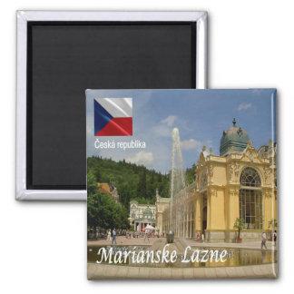 CZ - Czech Republic - Marianske Lazne - Marienbad Magnet
