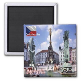 CZ - Czech Republic - Moravia Magnet