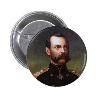 Czar Alexander II Button