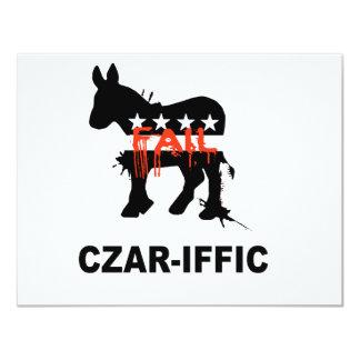 """Czar-iffic 4.25"""" X 5.5"""" Invitation Card"""