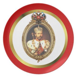 Czar Nicholas II Plate