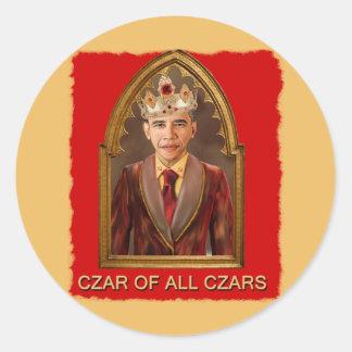 CZAR OF ALL CZARS CLASSIC ROUND STICKER