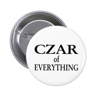 Czar of Everything 2 Inch Round Button