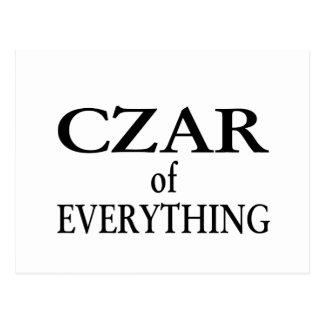 Czar of Everything Postcard