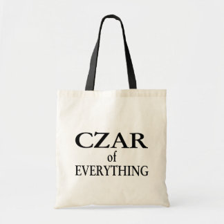 Czar of Everything Tote Bags