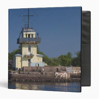 Czar Peter the Greats Naval fortress town Vinyl Binders