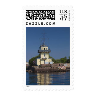 Czar Peter the Greats Naval fortress town Postage