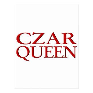 Czar Queen Postcard