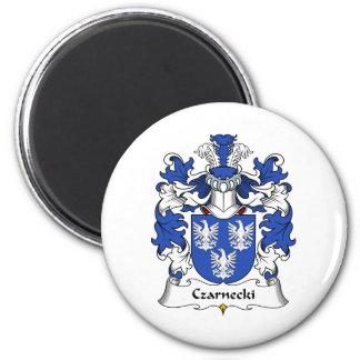 Czarnecki Family Crest 2 Inch Round Magnet