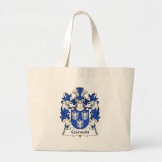 Czarnecki Family Crest Jumbo Tote Bag