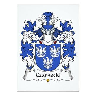 Czarnecki Family Crest 5x7 Paper Invitation Card