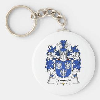Czarnecki Family Crest Basic Round Button Keychain