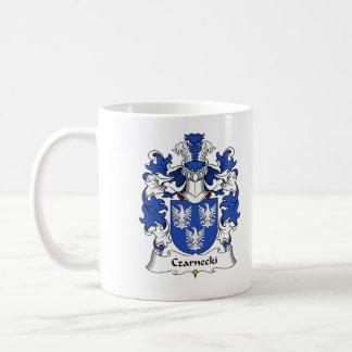 Czarnecki Family Crest Classic White Coffee Mug
