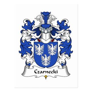 Czarnecki Family Crest Postcard