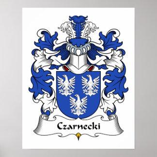 Czarnecki Family Crest Poster