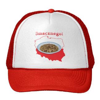 Czarnina Smacznego Polish Map Trucker Hat