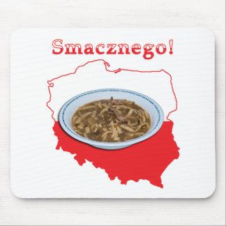 Czarnina Smacznego Polish Map Mouse Pad