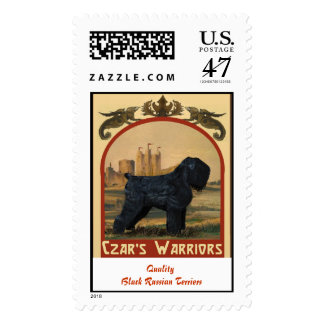 Czar's Warriors Postage