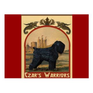 Czar's Warriors Postcard