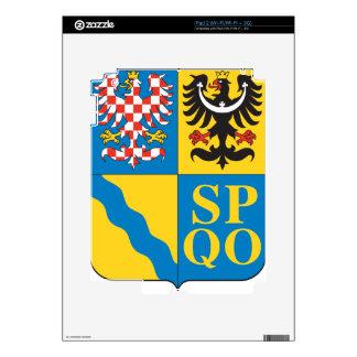 CZE_Kraj_Ołomuniecki_COA Calcomanía Para El iPad 2