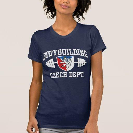 Czech Bodybuilding Tee Shirts