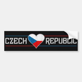 CZECH bumpersticker Bumper Stickers