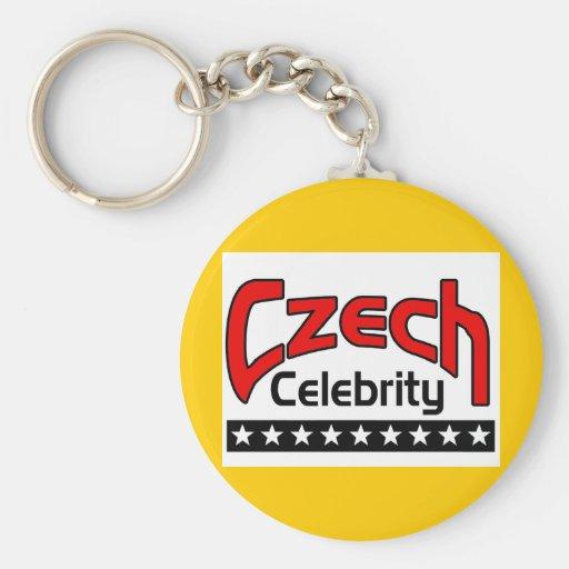 Czech Celebrity Key Chains