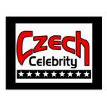 Czech Celebrity Postcards