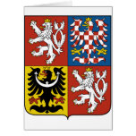 Czech Coat Of Arms Cards