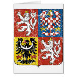 Czech Coat Of Arms Greeting Cards