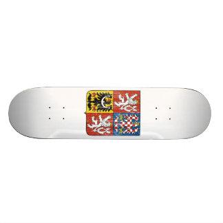 Czech Coat Of Arms Skateboard Deck