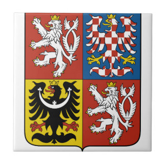 Czech Coat Of Arms Tile