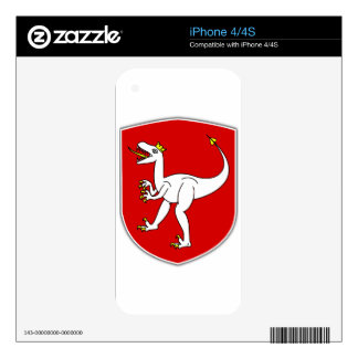 Czech Decal For The iPhone 4