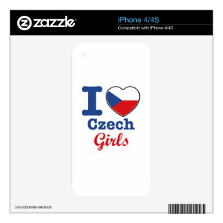 Czech Design iPhone 4 Decals
