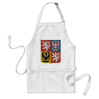 czech emblem adult apron