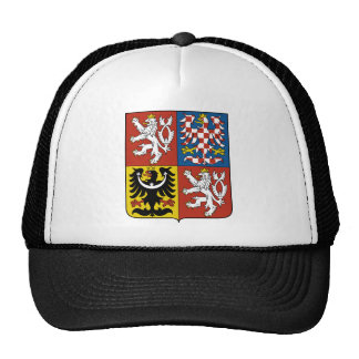 czech emblem trucker hat